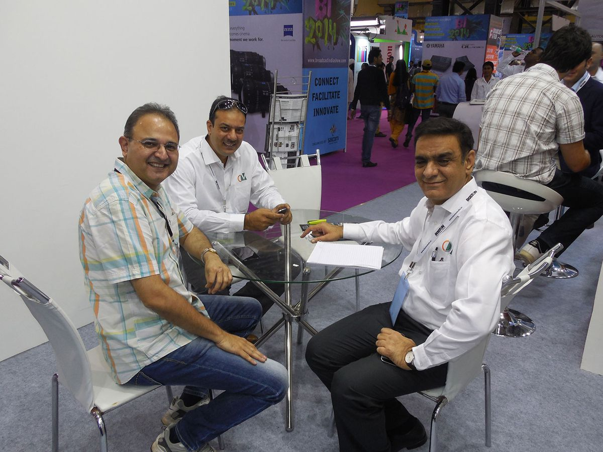 Broadcast India 2014 Images
