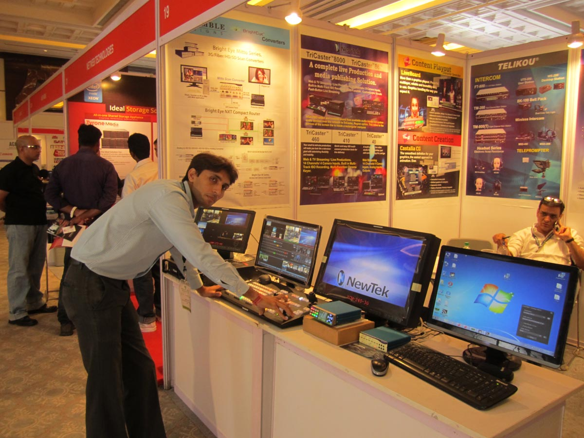 Broadcast and media technology 2014 Images